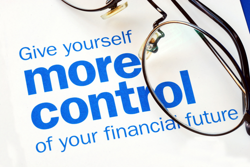 Give yourself more control of your financial Future